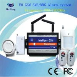 Quality Original Wireless GSM MMS intelligent alarm system with wavecom module for sale