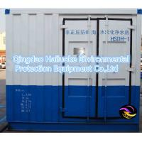Containerized Reverse Osmosis System Sea Water Treatment
