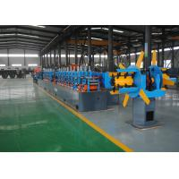 Quality Low Noise Carbon Steel Erw Tube Mill Machine , High Frequency Welding for sale