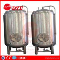 Quality High Efficiency Small Bright Beer Tanks 2mm Thickness Easy To Operate for sale