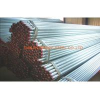 Quality 1/2 inch - 16 inch Welded Pre Galvanized Steel Pipe Round Tube BS1387 , BS EN 10297 for sale