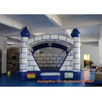 Quality 3D Sketch Tarpaulin Inflatable Childrens Bouncy Castle  , Kids Jumping Castle for sale