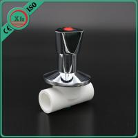 Quality 20 - 32 Mm Size Ppr Stop Valve With Zinc Alloy Handle Long Life Span for sale