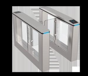 China 1.5mm Thickness Stainless Steel Speed Turnstile Gate with High Safety and Security System on sale
