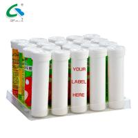 Buy cheap Anti Fatigue Effervescent Vitamin Tablets Electrolyte Drink Tablets Orange from wholesalers