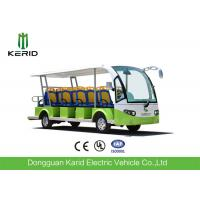 Quality 72V Low Speed Electric Sightseeing Car 14 Passengers Electric Personal Transport Vehicle for sale
