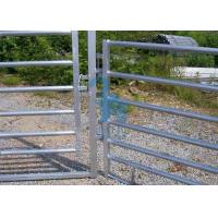 Quality Free Standing Powder Coated Metal Fence Panels , Plate For Animals' Prairie for sale