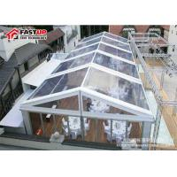 Quality Commercial Grade Outdoor Frame Tent , Transparent / Clear Frame Tent No Poles Inside for sale