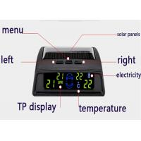 Buy cheap 12V Solar energy Tyre Pressure Monitoring System waterproof tyre pressure sensors from wholesalers