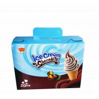 Quality Fancy and Crisp Chocolate Candy Crisp Ice Cream Shaped Chocolate Dessert Cups for sale
