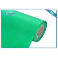 Quality Green OEM Non Woven Polypropylene Spunbond Fabric Recyclable / Eco Friendly for sale