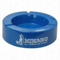 Quality Ashtray, made of melamine or metal, various shapes and sizes are available for sale