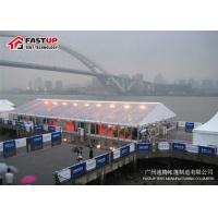 Quality Clear Roof And Sidewall Luxury Wedding Tents For 200 Persons Modular Design for sale