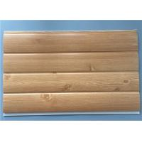 Buy Fireproof Pvc Wall Panels Lightweight With Four Circular Arc 8.5 Mm Thickness at wholesale prices