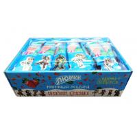 Buy Cow Shape Milk Lollipop Stawberry And Milk Flavor Lollipop Candy With Fluorescen at wholesale prices