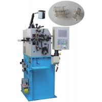 Quality Fast Debug Conical Spring Bending Machine Automatic Oiling with English Monitor Display for sale