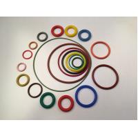 Quality Thick Coloured Rubber O Rings Chemical Resistance Meeting VMQ AS568 Standard for sale