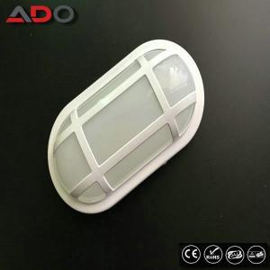 Quality IK09 Oval White Aluminum 24W PP 2400LM LED Bulkhead Lamp for sale