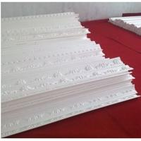 Quality Romantic EPS Decorative Crown Moulding Carved Panel for Exterior for sale