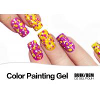 Quality DIY Colorful Gel Nail Paint Polish At Home Non Toxic Acrylic Nail Polish for sale