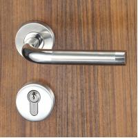 Quality 3 Brass Keys Mortise Door Lock Set Escutcheon Lock for Entrance , Passage for sale