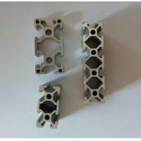 Quality Silvery Anodized Industrial Aluminium Profile , Aluminium Alloy 6063 Extrusion for sale