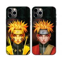 Quality Flips Effect 3D Lenticular Phone Case For Iphone 11 ,Plastic 3D Lenticular Cell Phone Case Of Anime for sale