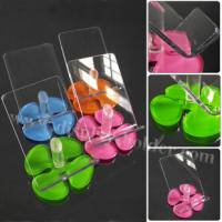 Quality Acrylic Phone Holder Laser Cut Flower Base Cellphone Display for sale