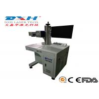 Quality Co2 IPG Laser Source Automatic Laser Marking Machine For Plastic EZCAD Control Software for sale