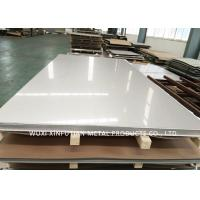 Quality SUS JIS EN Cold Rolled Stainless Steel Sheet / Cold Roll Steel Plate for sale