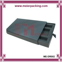 Quality Black cosmetic paper slide box with EVA insert ME-DR002 for sale