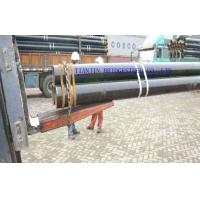 Quality Large Diameter SMLS Carbon Steel Seamless Pipe With Black Varnish Coating for sale
