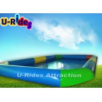 Quality Large Outdoor Inflatable Swimming Pools Hot Welded 10m x 6m x 0.65m for sale