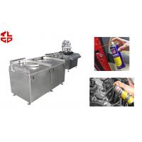 Quality Automatic Aerosol Filling Line for Carburetor& Injector Cleaner , Carburetor Cleaning Agent for sale