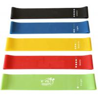 Quality High End Rubber Elastic Resistance Loop Bands For Sports And Fitness Customized Logo for sale