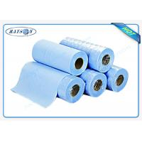 Quality Light Blue Disposable Bed sheet PP Nonwoven Massage Bedsheet Roll for Hospital for sale