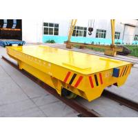 Quality OEM mill equipment flat deck electricity driving track transport car for sale
