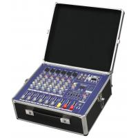 Quality Sturdy Portable Professional Audio Mixer With Fightcase PM600USB for sale