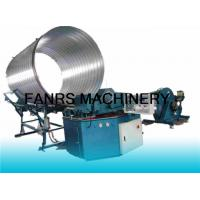 Quality CNC Computer Spiral Duct Forming Machine With Flying Slitting / Pipe Counting System for sale