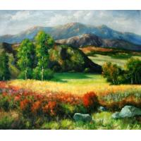 Quality frame painting landscape wall art picture for sale