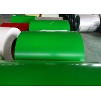 China Green Prepainted Galvanized Steel Coil For Metal Building Purlins on sale