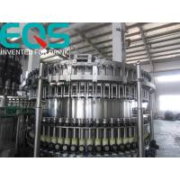 Quality SUS304 Material Beer Bottling Machine Line , Beer And Beer Bottle Filler Machine for sale