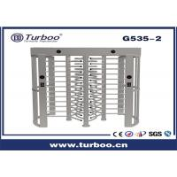 Quality Outdoor Full Height Access Control single lane and dual lane Turnstile Gate With A Direction Indicator for sale