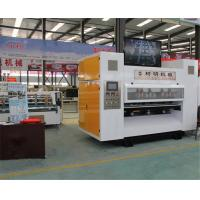 Quality NC controlled corrugated cardboard slitter scorer with AC servo, paper cutting creasing machinery for sale