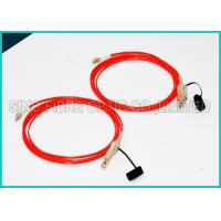 Quality 3.0Mm Fiber Optic OM2 Multimode Cable Assembly FDDI to FDDI Connector for sale