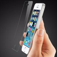Quality Scratch Resistant Smudge Free Screen Protector , Iphone 5s Glass Screen Protector Film for sale