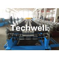 Quality Metal Roof Panel Roll Forming Machine / Double Layer Forming Machine With Hydraulic Cutting for sale
