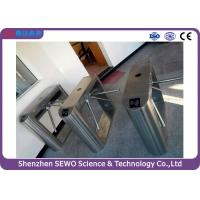 Quality Semi automatic Electronic Tripod Turnstile Gate with access control system for sale