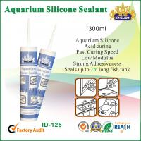 Quality 300ml Waterproof Silicone Sealant / Heat Resistance Silicone Adhesive For Glass for sale