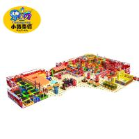 Quality Big Capacity Soft Indoor Playground Equipment European Standard Environmental Protection for sale